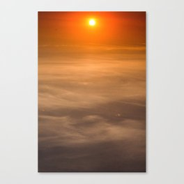 Desert in the Sky Canvas Print