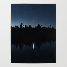 Venusian Lake Poster