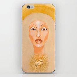 Goddess no 6 iPhone Skin