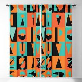 Tropical Alphabet, 36daysoftype Blackout Curtain