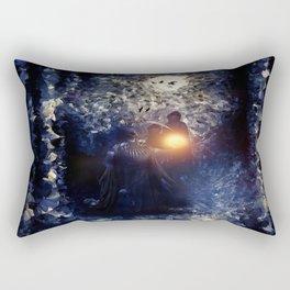 The Necromancer, by Paul Kimble & Viviana Gonzalez Rectangular Pillow