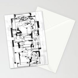Start From Scratch bw Stationery Cards