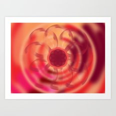 Attunement 8x3 Art Print