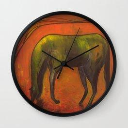 Dark Horse Wall Clock
