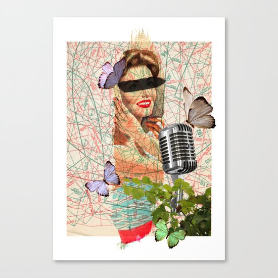 Sing to me Canvas Print