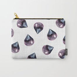 Gem Collage Carry-All Pouch