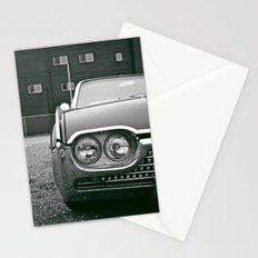 Classic T-bird headlight Stationery Cards