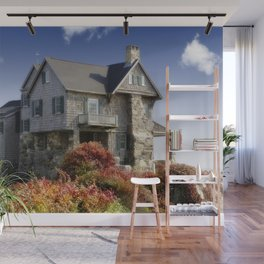 Country house Wall Mural