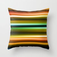 broadway Throw Pillows featuring Broadway by JoergRichter
