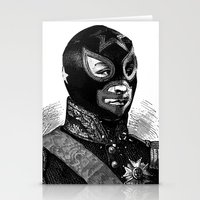 wrestling Stationery Cards featuring Wrestling mask 2 by DIVIDUS