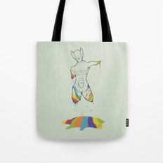 D-colored Tote Bag
