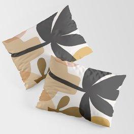 Abstraction_BOHEMIAN_PLANT_STILL_LIFE_Minimalism_001 Pillow Sham