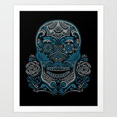 Magic Sugar Skull Art Print