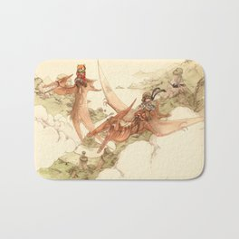 At the End of the World Bath Mat