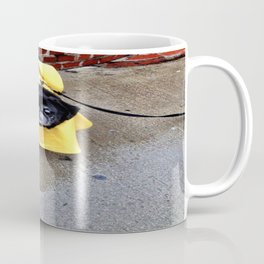 Rainy Day Pug - Newbury Street Coffee Mug