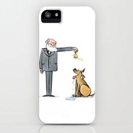 Pavlov & Dog iPhone Case