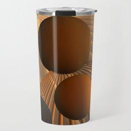 converging lines again -3- Travel Mug