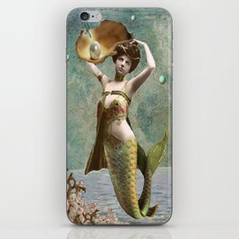 She loves the sea. iPhone Skin