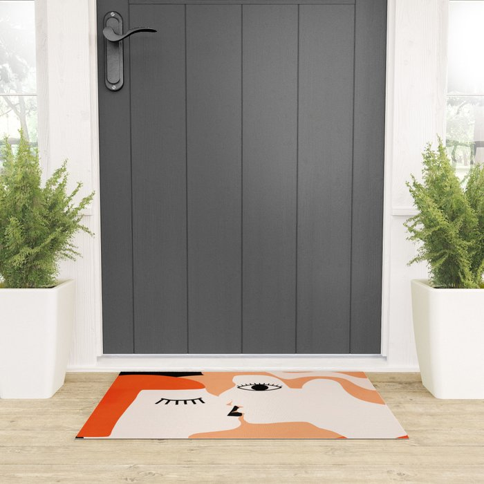 Kiss2 Welcome Mat