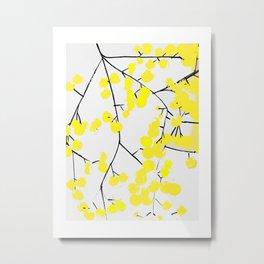 Mimosas Metal Print