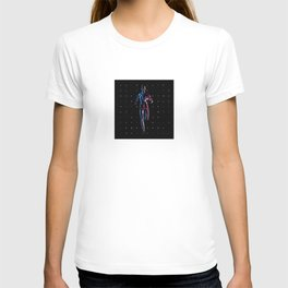 Running Man (Retrofuturistic Style) T-shirt