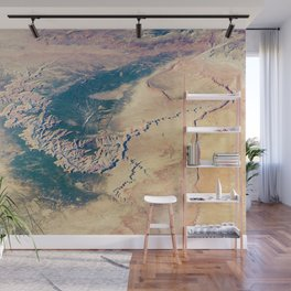 Grand Canyon Satellite Photograph from Earth's Orbit Wall Mural