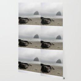 Haystack Rock At Cannon Beach Wallpaper