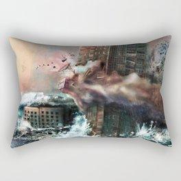 Wrecking Ball Listener Panorama Rectangular Pillow