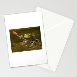 Frog Perspective Stationery Cards
