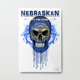 To The Core Collection: Nebraska Metal Print