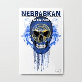 To The Core Collection: Nebraska Metal Print