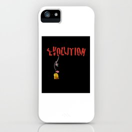 EVOLUTION. iPhone Case