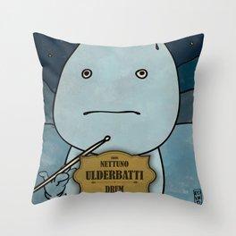 Ulderbatti from Nettuno (Drum) Throw Pillow