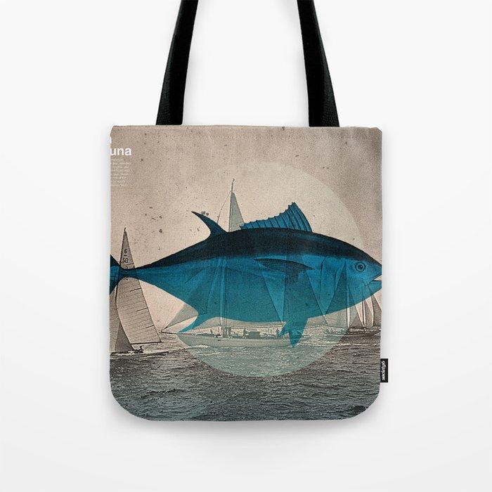 Northern Bluefin Tote Bag