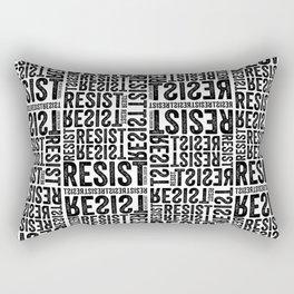 RESIST newsprint Rectangular Pillow
