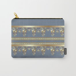 East Arabic Golden ornament . the gray background . Carry-All Pouch