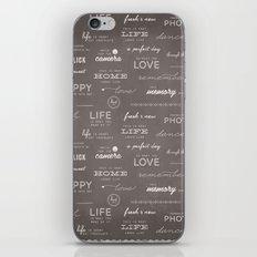Life on a Chalkboard iPhone & iPod Skin