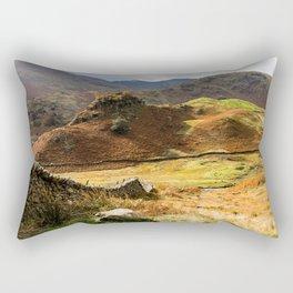 Castle Howe landscape Rectangular Pillow