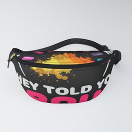 I'm the nail tech they told you about- Nail Design Fanny Pack