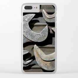 Group of old wrenches Clear iPhone Case