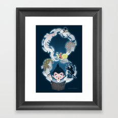 Neverending Framed Art Print