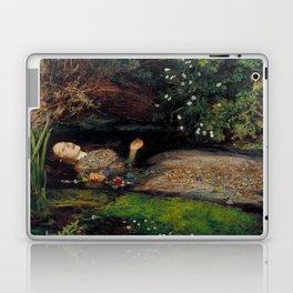 John Everett Millais Ophelia Painting Laptop & iPad Skin