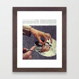 HD 130079 and a Globule Framed Art Print