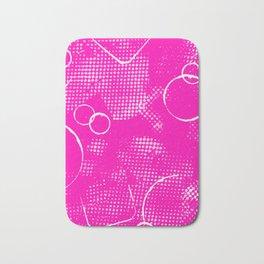 Texture #26 in Hot Pink Bath Mat