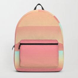 Big Sur Sunset Beach Color Backpack