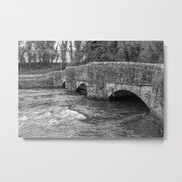 Sheepwash Bridge, Ashford in the Water Metal Print