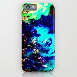 Cosmic Color iPhone Case