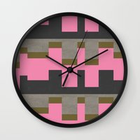 castle Wall Clocks featuring castle by Georgiana Paraschiv