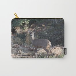 Deer in Tonto Natural Bridge State Park Carry-All Pouch
