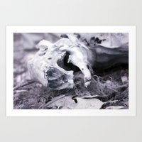 Death in Infrared II Art Print